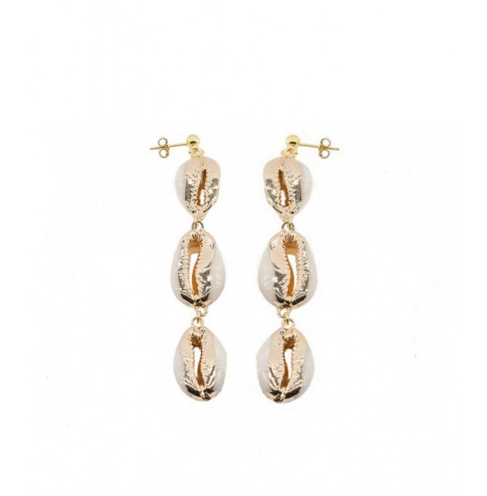 PENDIENTES COLLACÓ GOLD BY HELLEN