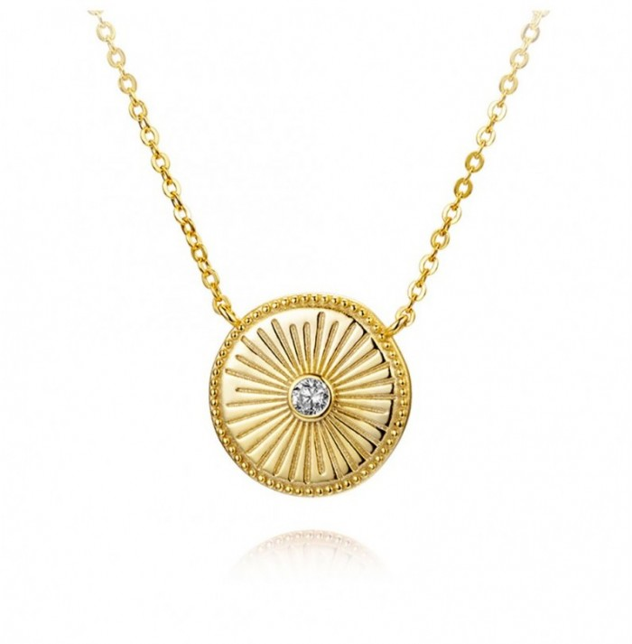 COLLAR SUN CHIC GOLD