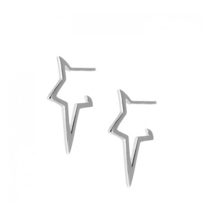 PENDIENTES LUCY STAR SILVER