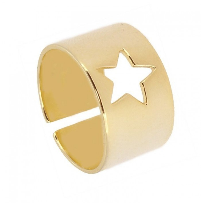 ANILLO CITY OF STAR GOLD