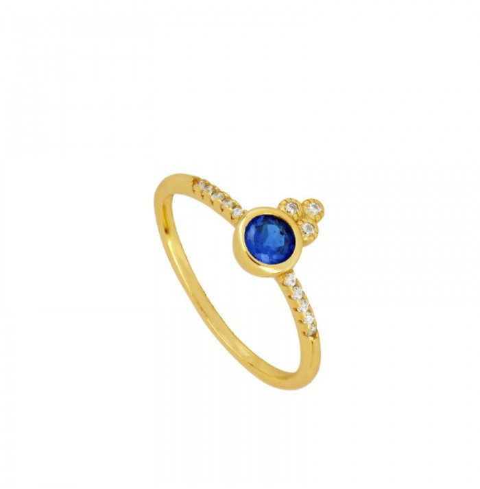ANILLO BLUE MOON GOLD