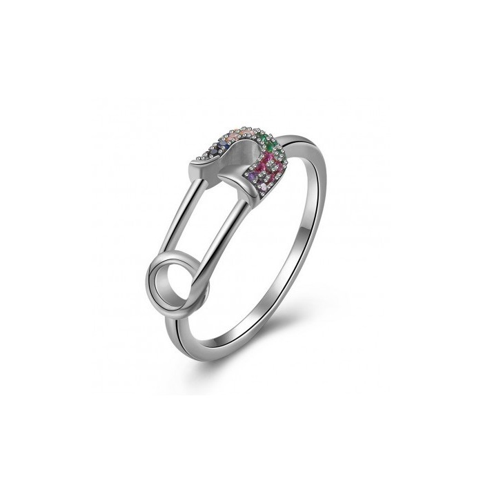 ANILLO SIMPHONY OF COLORS SILVER