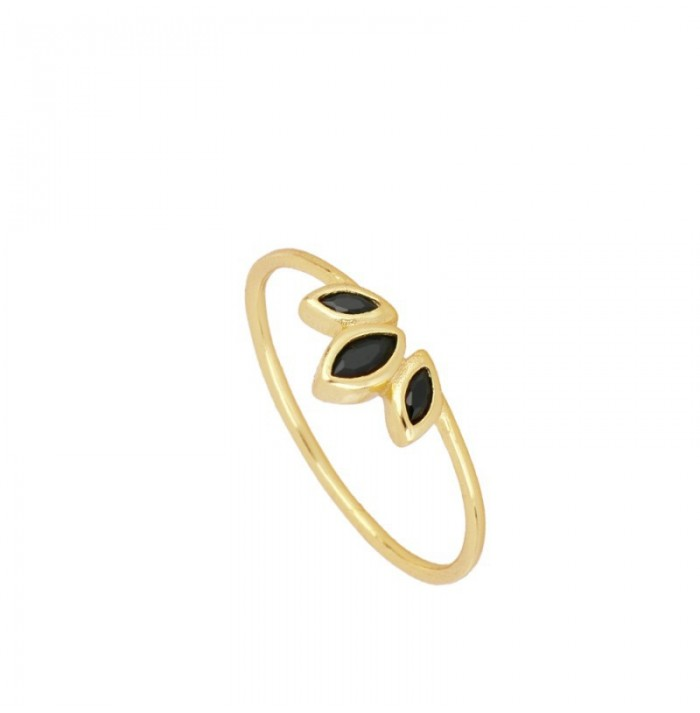 ANILLO AMUNET BLACK GOLD