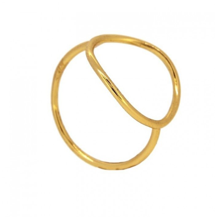 ANILLO CARAMEL GOLD