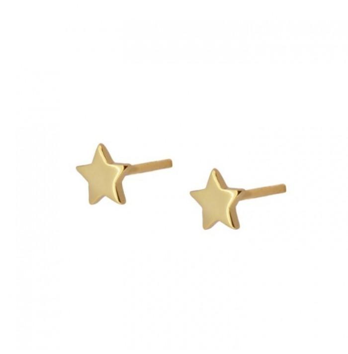 PENDIENTES PETÍT  STAR GOLD