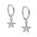 PENDIENTES SIMPLY STAR SILVER