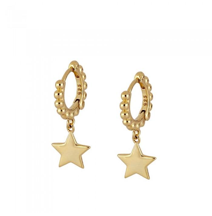 PENDIENTES SWEET STAR  GOLD
