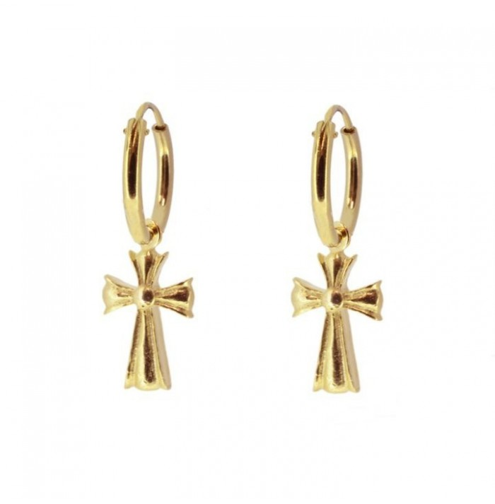 PENDIENTES NICE TO MEET YOU GOLD