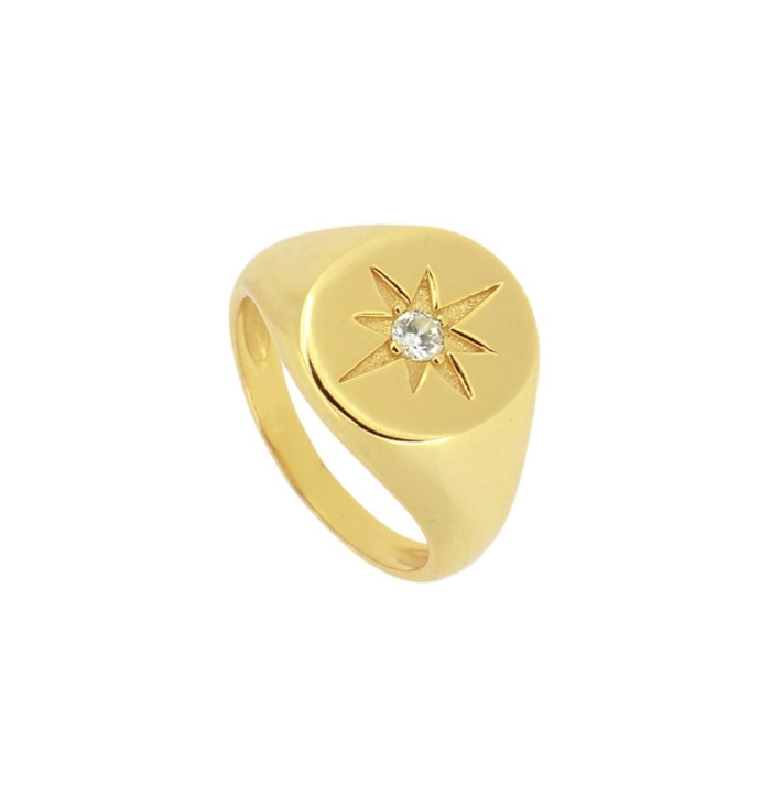 ANILLO COMPASS ROSE GOLD