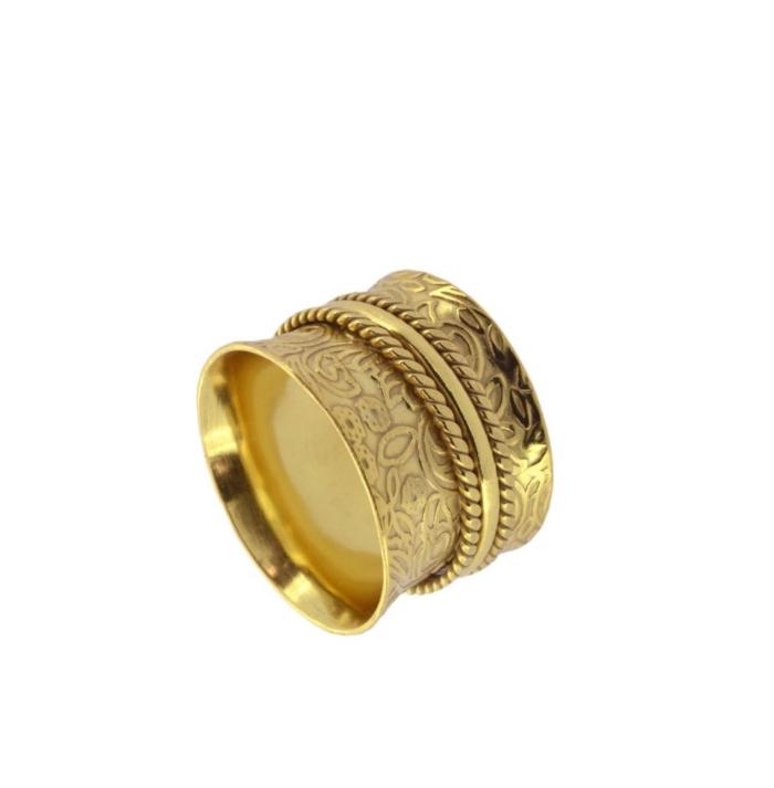 ANILLO TIBET GOLD