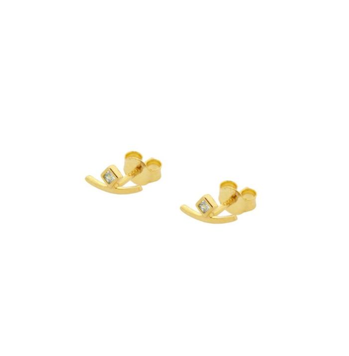 PENDIENTES MOMO GOLD