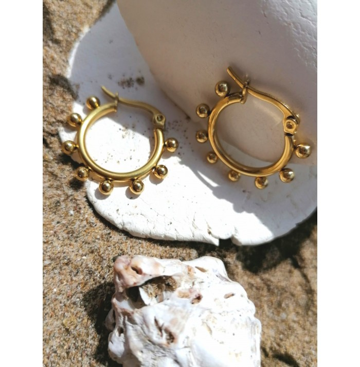 PENDIENTES SALVADHO GOLD
