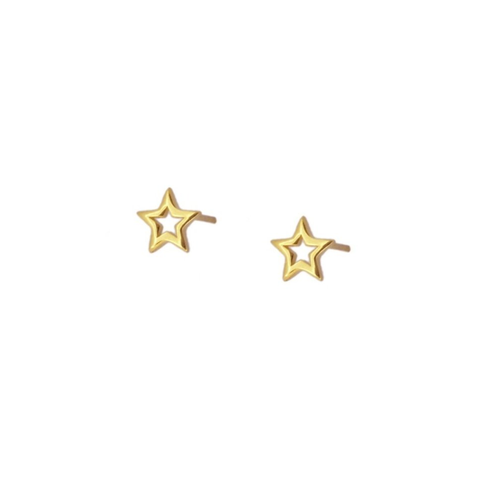PENDIENTES MANÁ STAR GOLD
