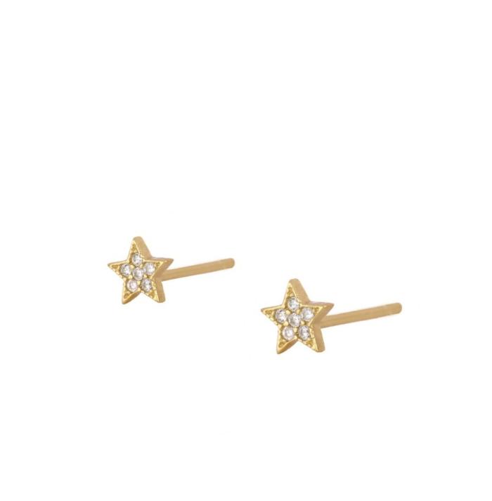 PENDIENTES ROCK STAR