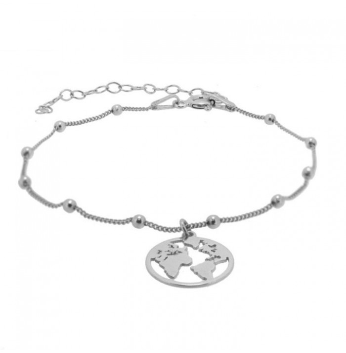 PULSERA WORLD SILVER