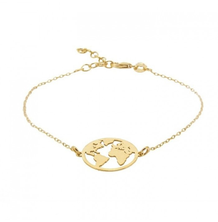 PULSERA TRAVEL GOLD