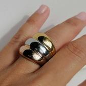 Anillo ▪️AGUIA▪️Su diseño combina los 3 colores del oro, se convierte así en un modelo muy original y lucido!! Y VUESTRO FAVORITO!! además es de la colección Acero Inoxidable Quirúrgico especial alta joyería. Hemos creado joyas de calidad con diseños originales y de pura tendencia y lo mejor... ¡No se ponen feas!  . . .   #joyas #joyasacero #trendyjewelry #instajewellery #joyasboho #anillobohochic #anillosacero #stainless #stainlesssteel #anillosplata #anillosdeacero #joyasinstagram  #zaraoutfit #jewellery #zarawoman