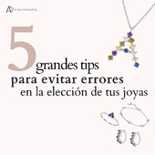 Te damos 5 tips que pueden interesarte cuando elijas tus joyas 💎 No te olvides de guardar este post para que puedas mirarlo cada vez que lo necesites 🥰✨ . #SoyAlmaBohemia #diseñodejoyas #designer #anillos #earrings #collares #instajewels #jewelgram #joyasespañolas #joyasespaña #joyas #necklace #jewelryblogger #jewelsaddict #joyeria #almabohemia