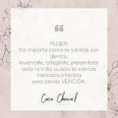 """Mujer: """"Qué gran palabra""""👠💄👄 M de Motivadora,U de.... Nos ayudas a completarlo?Feliz día a todas 💕  #SoyAlmaBohemia #carolinaherrera #carolinaherrers212vip #chanel #moda #designer #phrases #phrasesoftheday #instaphrases #quotes #spain #madrid #jewels #jewelry #joyas #powerwoman #empoderada #motivation #behappy #workhard #mujerespaña #diseñosdejoyas #joyitas #instamoments #frasesparacompartir #frasesparareflexionar#cocochanel"""